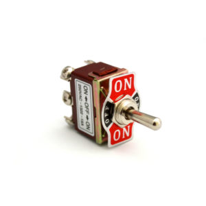 1322 ON-OFF-ON 6Pole Toggle Switch