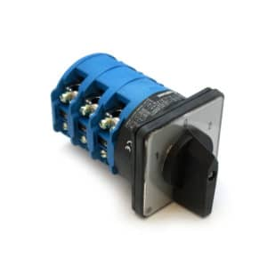 A1023 100Amp 3 Pole 1-0-2 Changeover Rotary Switch