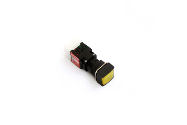 A16SMS 16mm Push Button Yellow