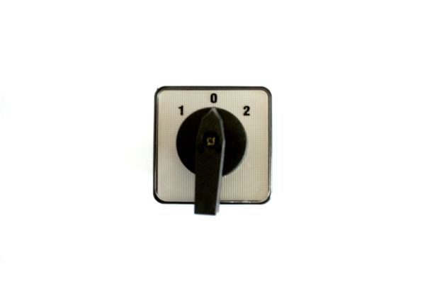 A220 20Amp 4 Pole 1-0-2 Changeover Cam Switch
