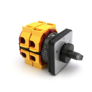 A318 32A 2P 0-1-2 Rotary Switch