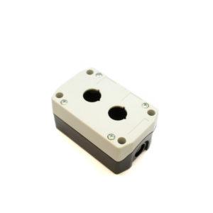 B2A Two Hole Push Button Box