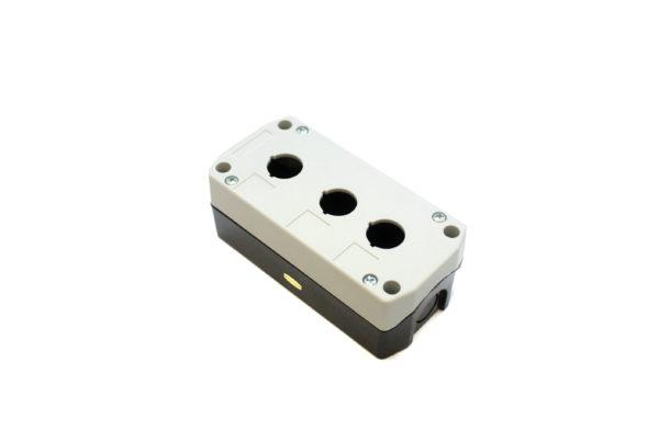 B3A Three Hole Push Button Box