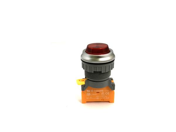 PLN30 30mm Panel Indicator Ba9s Bulb Red