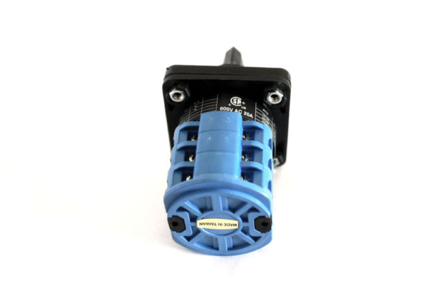 R213 20A 3 Pole Changeover Cam Switch