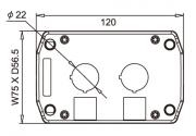 B2A Two Hole Box