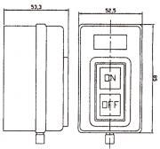 SP315 Motor Start Switch