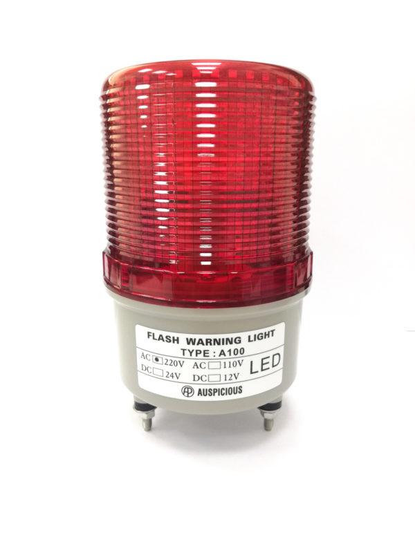 A100 Flashing Warning Light Screw Mount