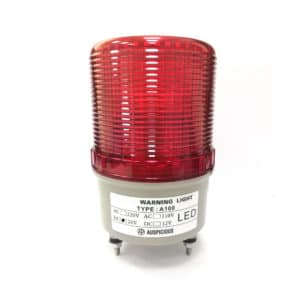 A100 Red Rotating Warning Light Auspicious