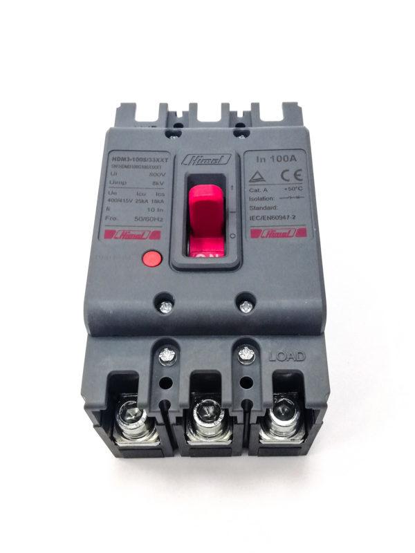 HDM3100 100A 3P MCCB Himel