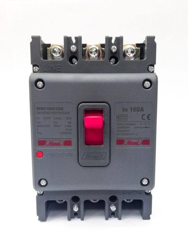 HDM3160 160A 3P MCCB Himel