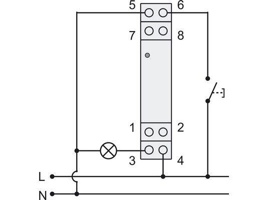 872110 LED Dimmer Din Rail