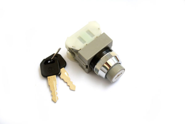 AKS223-2 3 Position Key Switch