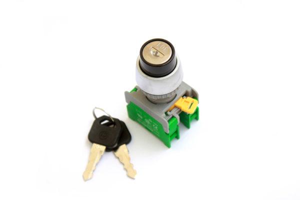 KSR22-3 Spring Return Key Switch