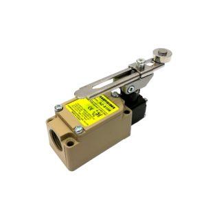 Adjustable roller lever limit switch