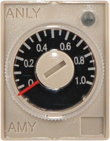 8 Pin Flat Relay Timer Anly