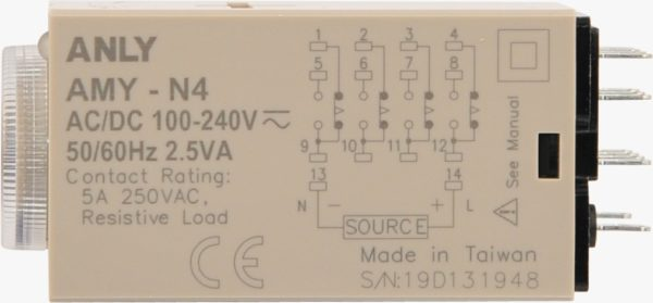 14 Pin Relay Timer Anly