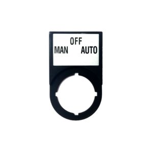 MAN-OFF-AUTO Plate - 2