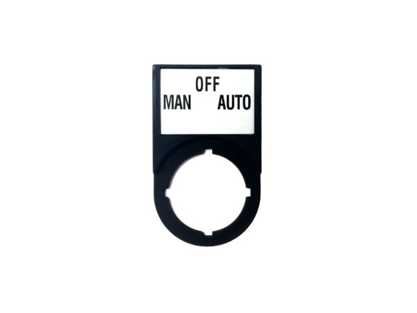 MAN-OFF-AUTO Plate - 2