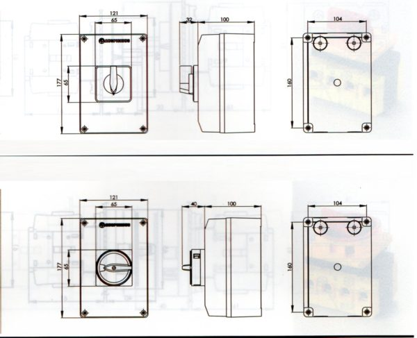 Rotary Switch Enclosure
