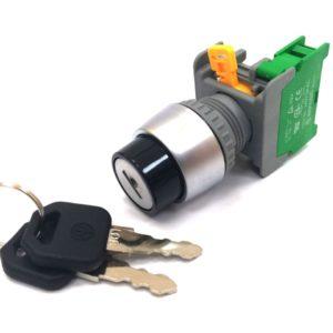 KSR22 Spring Key Selector Switch