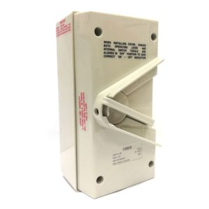 Weather proof Isolator 20A and 35A
