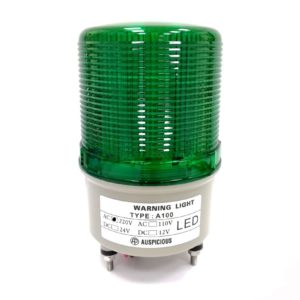 Warning Light Green 24V Auspicious