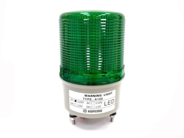 Warning Light Green 24V Auspicious
