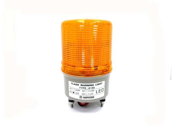 Yellow Flashing Warning Light Auspicious