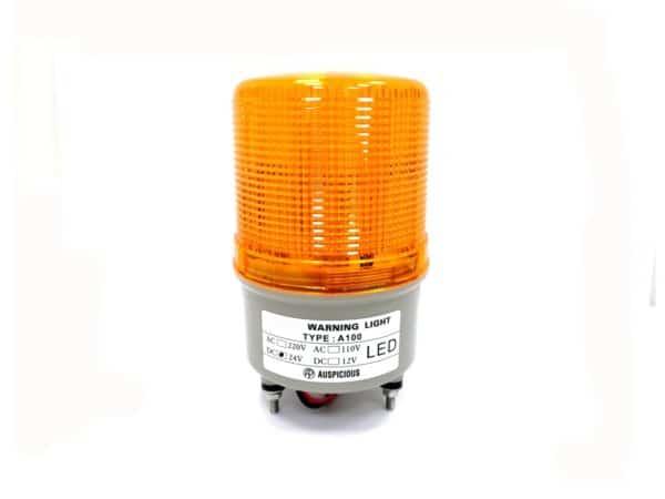 Warning Light Yellow 24V Auspicious