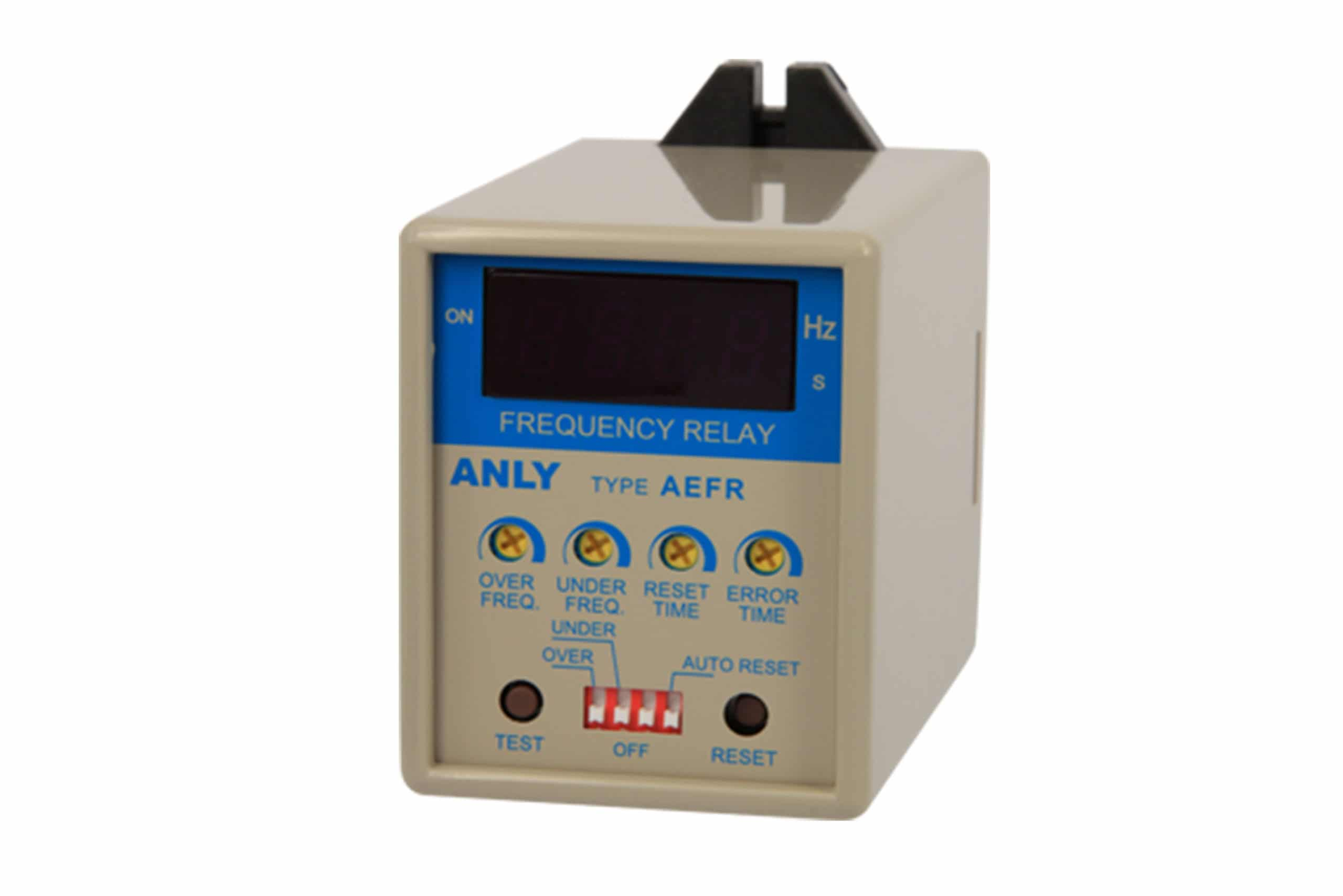 AEFR Digital Frequency Relay Anly