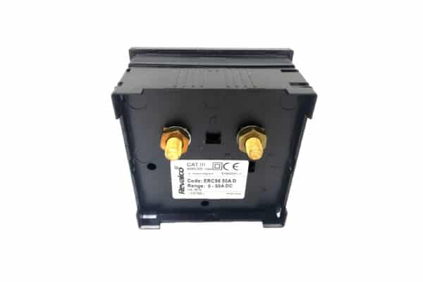 96*96 50A DIRECT AMMETER REVALCO