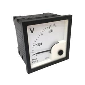 ERI72-500VD Voltmeter Revalco