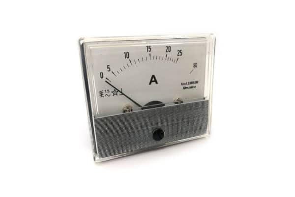 25A Round Ammeter Revalco EMI55M AC Analogue