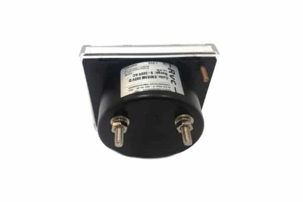300V Round Voltmeter Revalco EMI55M AC Analogue