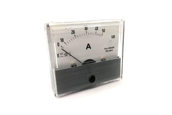 Round Ammeter Revalco EMI55M AC Analogue