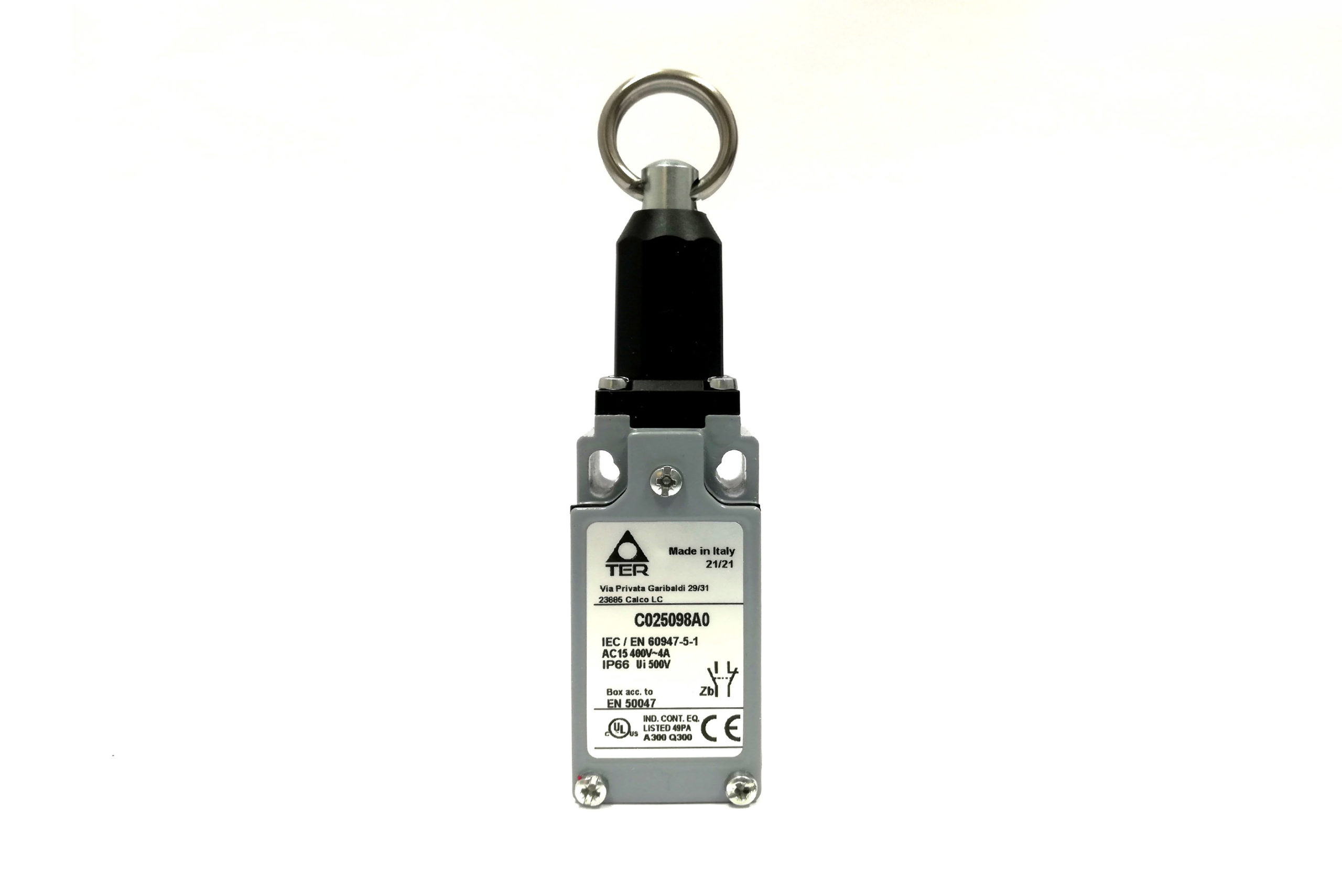 C025098A0 Pull Cord Limit Switch